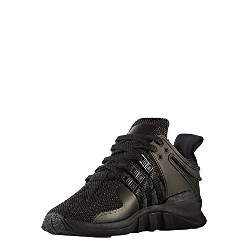 Adidas Kick (adidas Originals Women's EQT Support Adv W, Black/Black/Sub Green, 7.5 M US)