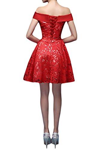 Missdressy - Vestido - trapecio - para mujer naranja
