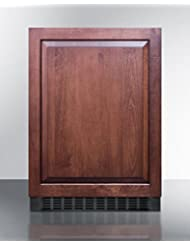 Summit SPR627OSIF Beverage Refrigerator, Brown