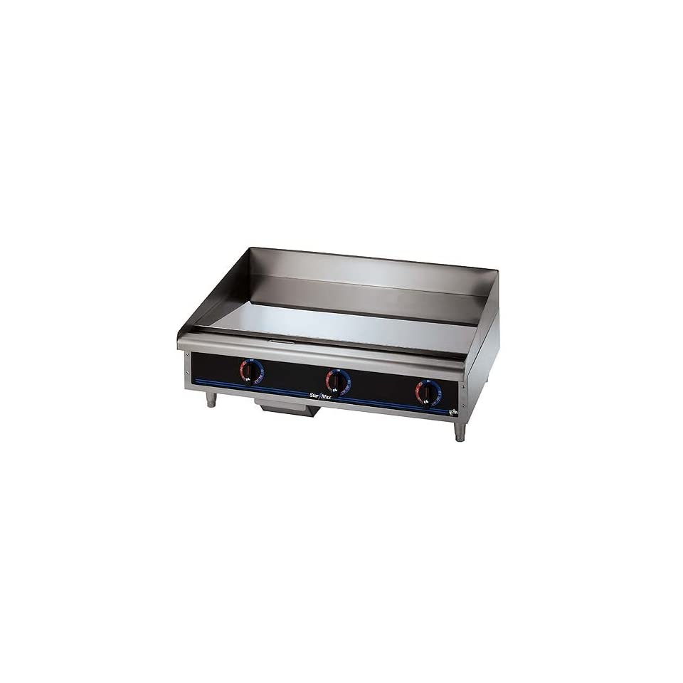 Star 536CHSD 36 Chrome Max Electric Griddle  Kitchen