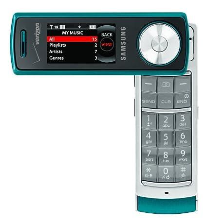 amazon com samsung juke phone teal verizon wireless cell phones rh amazon com