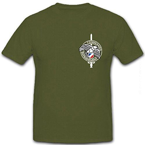 T-shirt Commando Unit - Commando Entrainement France police special unit badge emblem