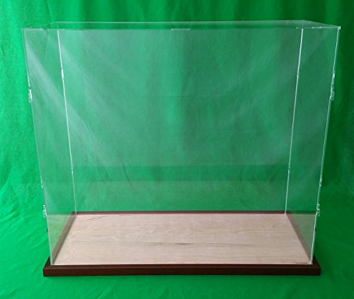 (23 x 13 x 20 Table Top Display Case Box for Doll Houses Dolls Bears Dollhouses)