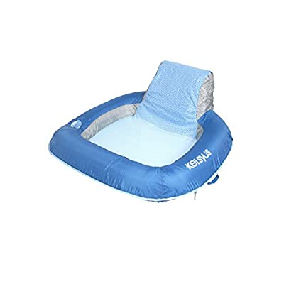 Kelsyus Floating Chair Inflatable Float for Pool, Beach, and Lake : Floating Lounger Seats : Sports & Outdoors