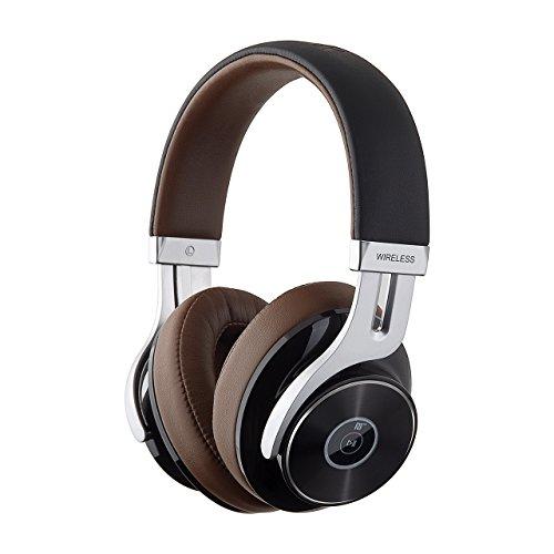 Edifier W855BT Wireless Over-Ear Headphones with Built-in Mic Brown