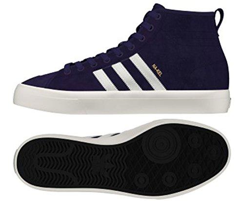 Adidas Matchcourt Alta Rx Na-kel (viola / Bianco / Oro Metallico) Mens Pattinare Scarpe