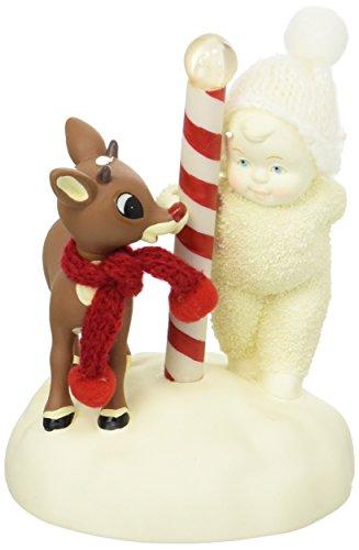 Department 56 Snowbabies A Surprise For Rudolph Porcelain Figurine, 5