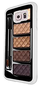 Make Up Palette Quilted Fashion Design Samsung Galaxy S6 i9700 Fashion Trend Cool Case Back Cover Plastic/Metal