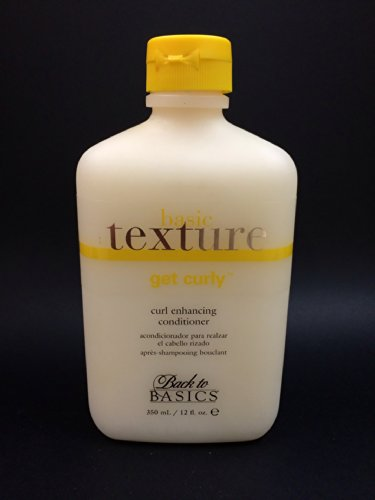 Back To Basics Moisturizing Conditioner (Back To Basics ~ Basic Texture Get Curly Curl Enhancing Conditioner 33 oz)