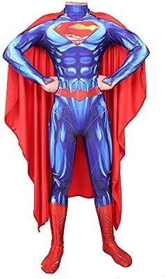 Hero-costume Disfraz de superhéroe para Adultos de la Liga de la ...