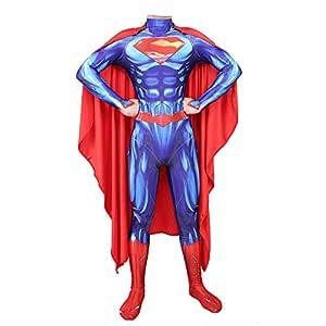Hero-costume Disfraz Superman Adulto Justice League Nino Disfraz ...