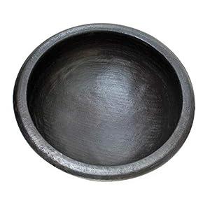 Craftsman India online Pre-Seasoned Black Clay Pots