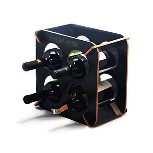 Mini Adega Vinho para 4 Garrafas Mdf