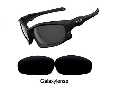 Galaxy Lentes De Repuesto Para Oakley Split Jacket Negro Polarizado,GRATIS S&H