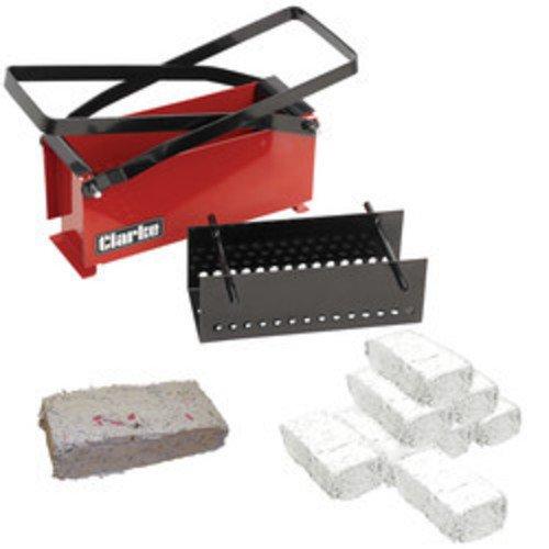 Clarke Paper / Cardboard Briquette Log Brick Maker