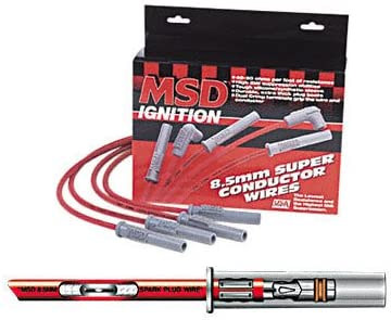 MSD 32189 8.5mm Super Conductor Spark Plug Wire Set