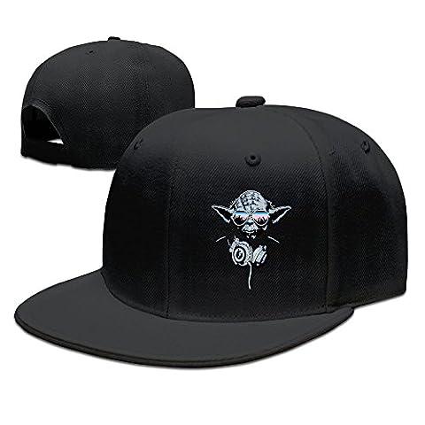 Dj Hip Hop Party Baseball Caps Snapback Hats Black (9 Dj Rack)