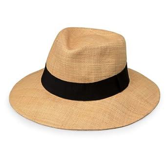 c27aacad4 Wallaroo Hat Company Women's Morgan Fedora - Natural - UPF 50+ ...