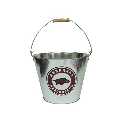 Game Day Outfitters NCAA Arkansas Razorbacks Drinkware Ice Bucket, One Size/150 oz, - Arkansas Ice Razorbacks