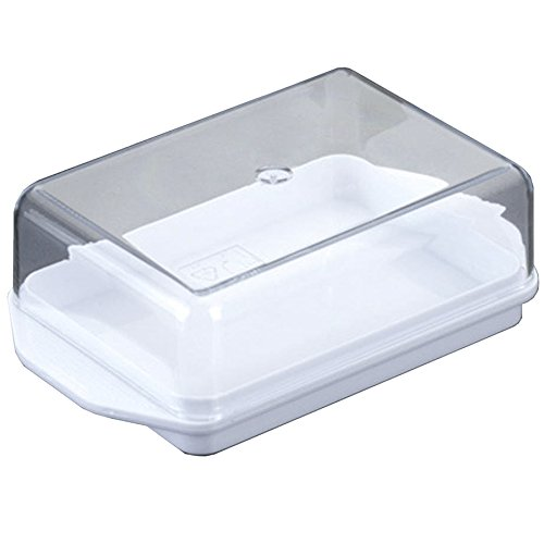 Metaltex Butter Dish, White 253302