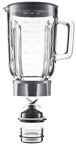Grundig SM 7280 W - Batidora de vaso, 1,5 l, 4 velocidades, 600 W, color blanco: Amazon.es: Hogar