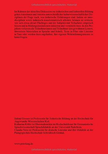 Ästhetische Erfahrungen: Theoretische Konzepte und empirische Befunde zur kulturellen Bildung (Studien zur Germanistik und Anglistik) (German Edition) by Peter Lang GmbH, Internationaler Verlag der Wissenschaften