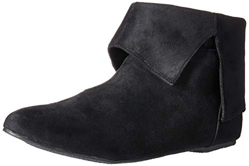 Ellie Shoes Women's 015-QUINN Ankle Boot, Black/red, 8 M US ()