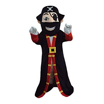 Pirates Mascot Costume Cartoon Character Real Picture Langteng