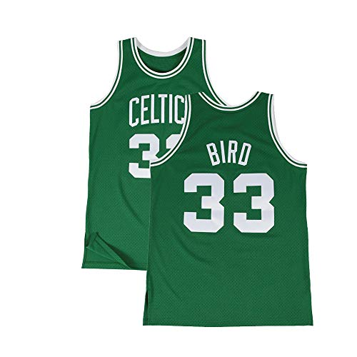 Youth Bird Jersey Athletics Retro 33 Kids Boston Larry Boys Basketball Sizes Green (Youth Small 8)