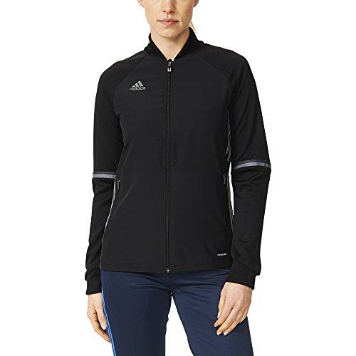 Adidas Condivo 16 Womens Training Jacket L Black-Vista Grey