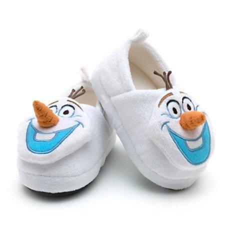 Disney Olaf 3D - warm Hausschuhe / Schuhe für Kinder - (Kids Schuhgröße EU 24 - 26 .... UK 7 - 8)