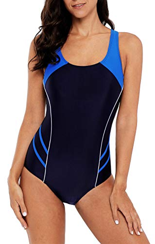 Racing Swimsuit Womens (beautyin Competitive Swimsuits for Women Racerback Bathing Suit one Piece XL)