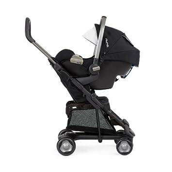 Nuna - compuesto Duo Cochecito Pepp + Siege 0 +/1 pipa + adaptador - negro: Amazon.es: Bebé