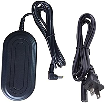 HQRP AC Adapter Works with Panasonic SDR-H18 SDR-H20 SDR-H21 SDR-H200 SDR-H20EG SDR-H250 SDR-H250EG VDR-D220 VDR-D230 VDR-D310 K2GJ2DC00011 K2GJ2DC00015 PV-GS69 PV-GS80 PV-GS81 Camcorder