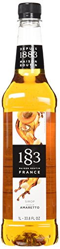 (Routin 1883 PET Amaretto Syrup - 1 Liter Bottle)