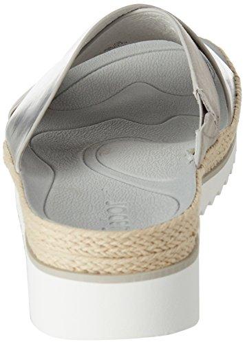 Fashion Grigio silber Ciabatte 61 Donna Gabor grau dtFwR4qUxd