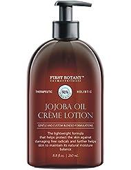 Jojoba Oil Crème lotion 9 fl oz - Organic, Moisturizing...