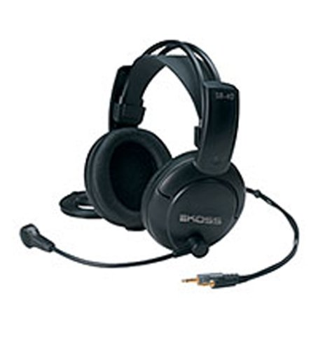 Headphones Hands Free Koss - Koss SB40 Computer Headset with Microphone