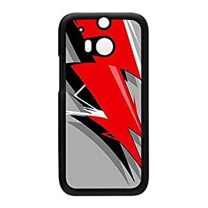 Flash Black Hard Plastic Case Snap-On Protective Back Cover for HTC? One M8 by Gangtoyz + FREE Crystal Clear Screen Protector