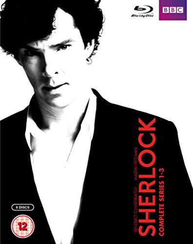 Sherlock (BBC) Complete Series 1-3 Blu-ray [UK Import] [1080i player required/Region Free]