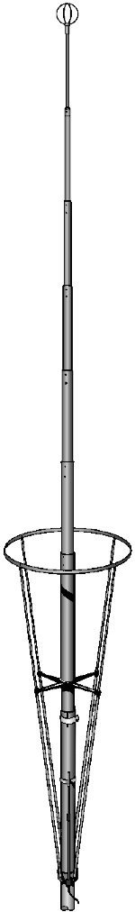 Sirio Antenna Sirio New Vector 4000 27-28.5 Tunable Base Antenna by Sirio Antenna (Image #1)
