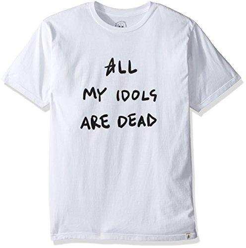 Altamont Tee (ALTAMONT Men's Dead Idols T-Shirt, White, Medium)