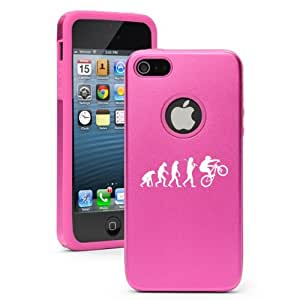 Apple iPhone 5c Hot Pink CD4999 Aluminum & Silicone Case Evolution BMX Mountain Bike