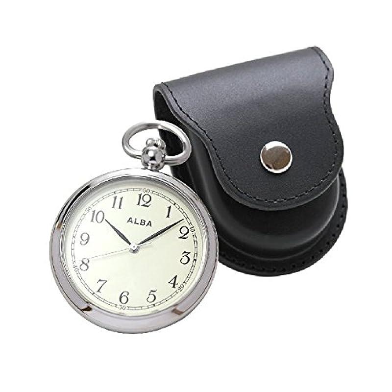 세이코 알바 회중 시계 AQGK445 케이스세트