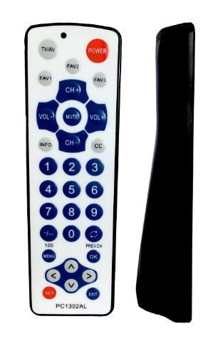 Gmatrix Waterproof Universal Remote Control (PC-1302AL) - Retail Packaging ()