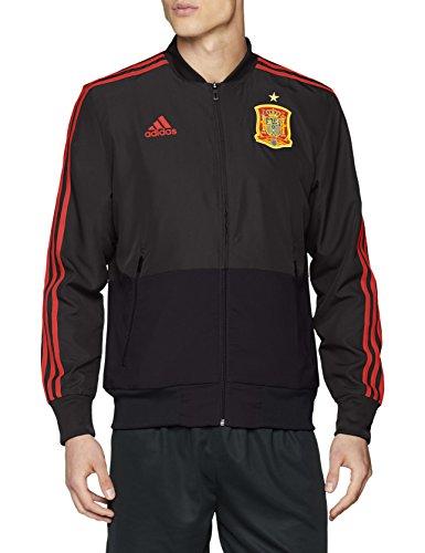 adidas 2018-2019 Spain Presentation Jacket (Solid Grey)
