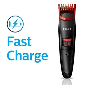 Best Philips QT4011/15 corded & cordless Titanium blade Beard Trimmer with Fast charge, In India 2020