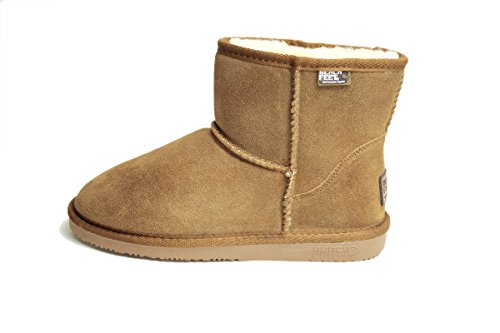 BEACH FEET ビーチフィート 撥水 ムートンブーツ SUPER-DRI CLASSIC BOOTS MINI (US7(23.0cm-23.5cm), CHESTNUT)