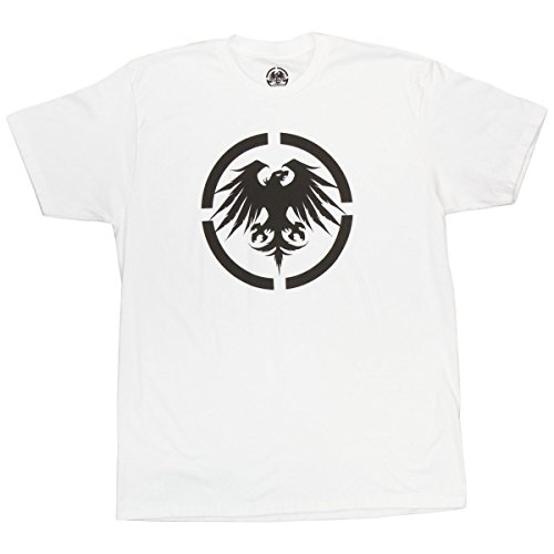 - Never Summer Eagle T-Shirt - White - Small