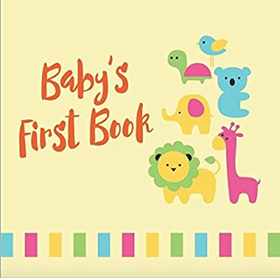 Tiny Angel Baby Memory Book ~ Gender Neutral Keepsake Journal for Boys & Girls upto 5 years ~ 46 Pages Record Book ~ Envelopes included ~ Perfect Babyshower Gift ~ Hand and footprint page